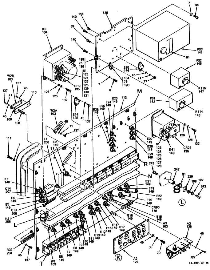 Power Supply Exploded Diagram